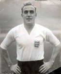 Billy Wright. I've got nothing funny to say about this legendary player.