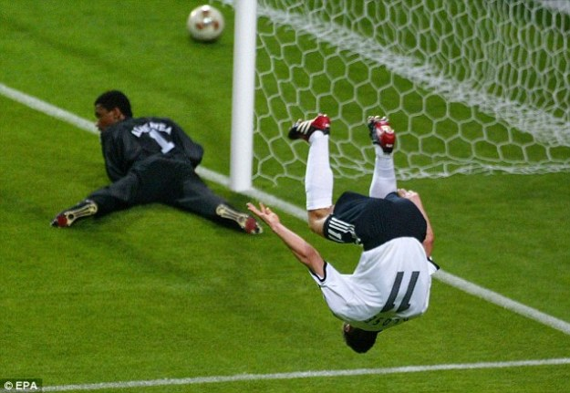 Can Israel and Saudi Arabia bond over the fact that we both conceded hat-tricks from the great Klose?