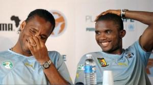 """Damn Didier, 65 goals in 104 caps? Can you teach me?"""