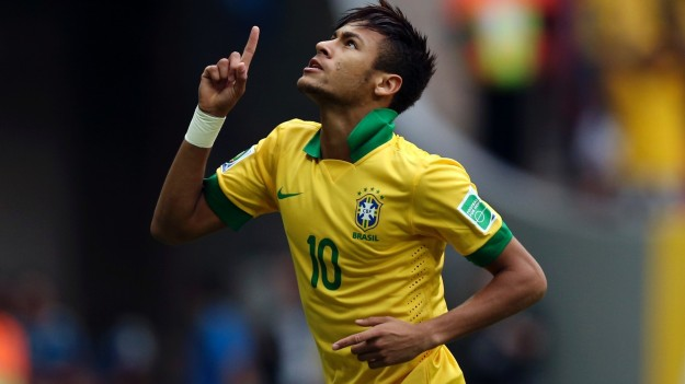 Neymar needs to really crane his neck in order to look up to where Ali Daei sits comfortably with his 109 goals...