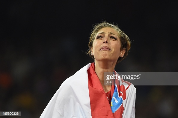 Perhaps not the greatest of photos of Blanka, but for me it was the most emotional image of Beijing 2015.