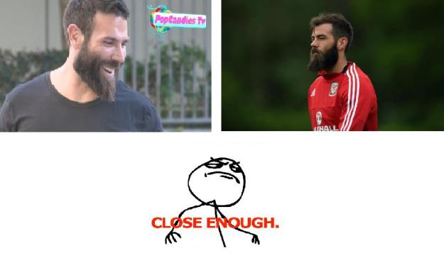 I really don't like Bilzerian, but the resemblance is uncanny