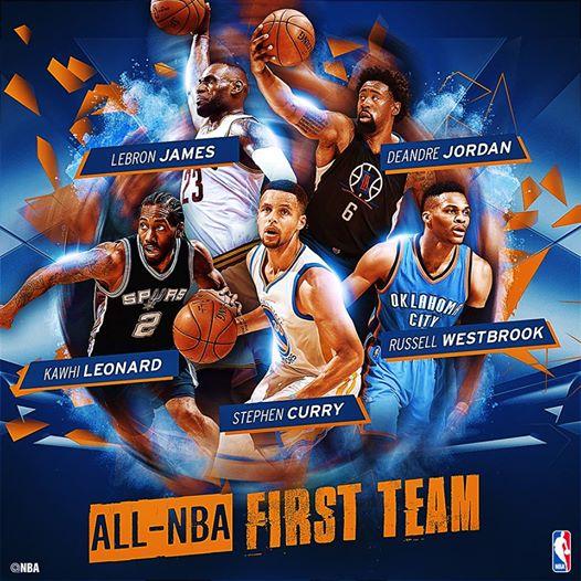 I'm a bit worried by the fact that Russ is the only guy looking to the right. AND he's the only one without a ball. Illuminati confirmed.