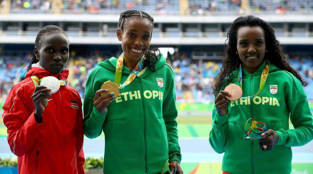 In a female twist on the men's Discus Throw saga, I bet the Dibaba sisters really hate Almaz Ayana by now...